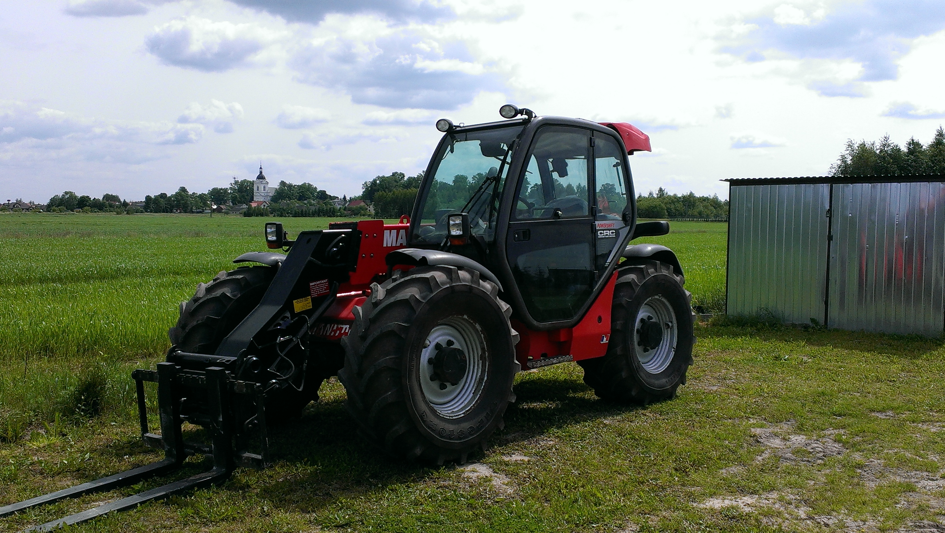 MANITOU MLT 634, 2008r.