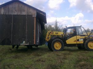 CATERPILLAR TH330B, 2005r.
